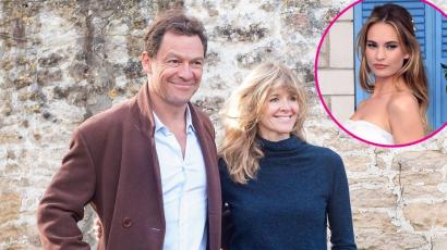 Kéz a kézben, csókolózva nyilatkozott a hűtlen Dominic West és felesége – fotók!