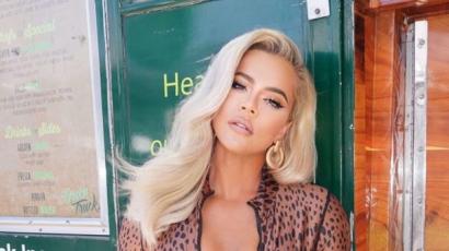 Khloe Kardashian is új hajszínt villantott