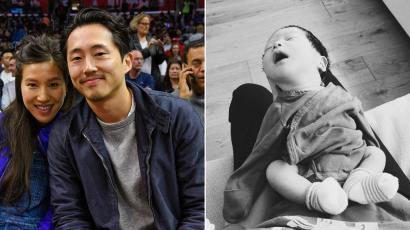 Kiderült, milyen nevet választottak újszülött gyermeküknek Steven Yeunék
