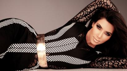 """Kim Kardashian: """"Remélem hamarosan lefogyok"""""""