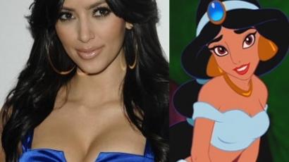 Kim Kadashiannak Jasmine a példaképe