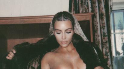 Kim Kardashian minden határt átlépett, már az Instagramon meztelenkedik
