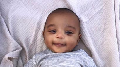 Kim Kardashian édes fotót posztolt kisfiáról