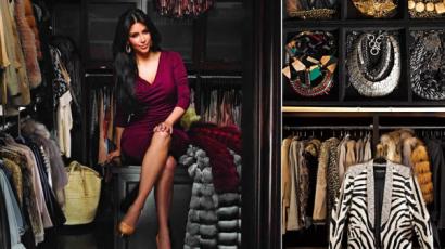 Kim Kardashian gardróbja láttán garantáltan elönt a féltékenység téged is!