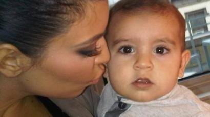 Kim Kardashian gyereket vár?