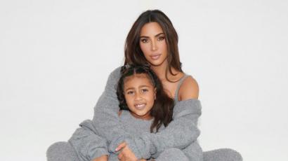 Kim Kardashian kiakadt, amikor lánya festményét kritizálták