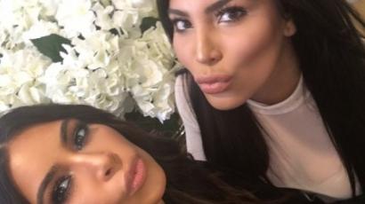 Kim Kardashian találkozott a hasonmásával! Te meg tudod különböztetni őket?