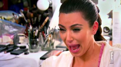 Kim Kardashian teljesen kiakadt, amikor megtudta, hogy kiszivárgott a szexvideója