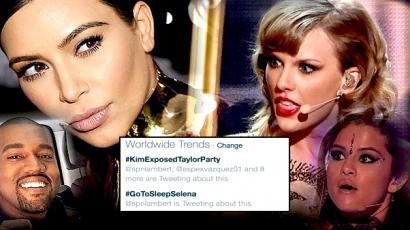 Kim Kardashian végzett Taylor Swifttel: mégsem olyan ártatlan, mint mondta magát