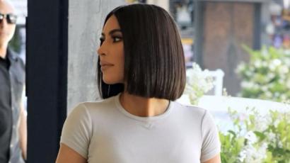 Kim Kardashian ismét rövid hajjal hódít
