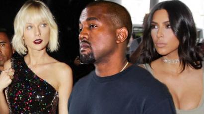 Kimet és Kanye-t nem érdekli Taylor Swift
