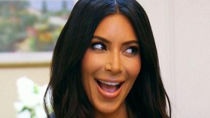 Kirakta eddigi legpucérabb képét Kim Kardashian