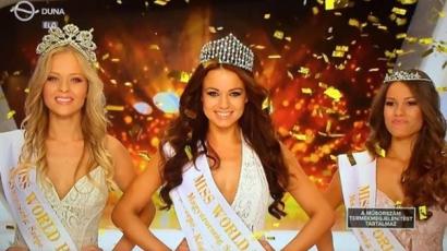 Kiss Daniella lett Magyarország szépe 2015-ben