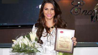 Kitüntetést kapott Carolina Dementiev