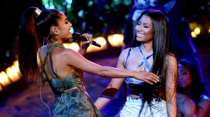 Klipet forgat Ariana Grande és Nicki Minaj!