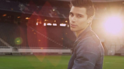 Klippremier: Eric Saade — Winning Ground