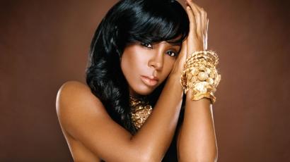 Kelly Rowland fagyos, mint a jég