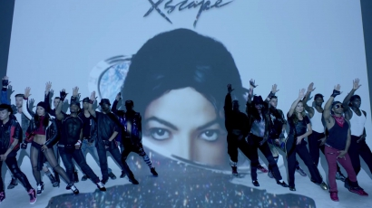 Klippremier: Michael Jackson, Timberlake- Love Never Felt So Good