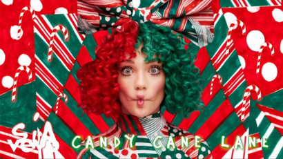 Klippremier: Sia - Candy Cane Lane