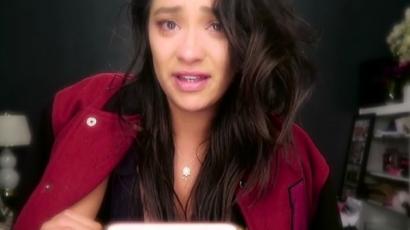 Könnyek között búcsúzott a Pretty Little Liars nézőitől Shay Mitchell