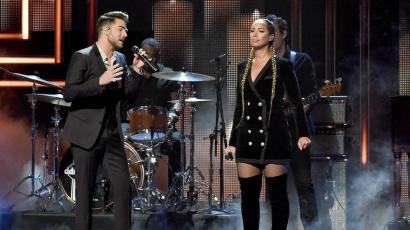 Könnyfakasztó duettet adott Adam Lambert és Leona Lewis
