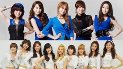 Koreai lánybandák harcolnak az eladási rekordokért
