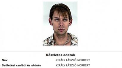 Körözést adott ki a rendőrség Király L. Norbi ellen