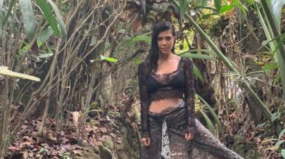 Kourtney Kardashian Balin nyaralt, képet is posztolt róla