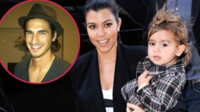 Kourtney Kardashian kisfiának egy titokzatos modell az apja?