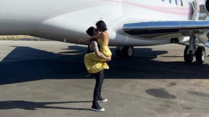 Kourtney Kardashian segített Travis Barkernek, hogy 13 év után legyőzze félelmét