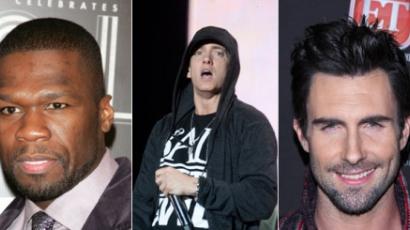 Közös klippel jelentkezik Adam Levine, Eminem és 50 Cent