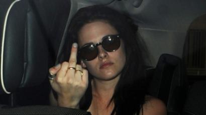 Kristen Stewart bemutatott a fotósoknak