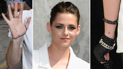 Kristen Stewart tetkókat villantott
