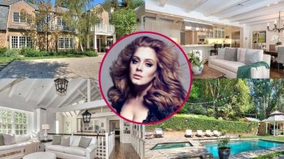 Kukkants be Adele 10 millió dolláros álomotthonába!