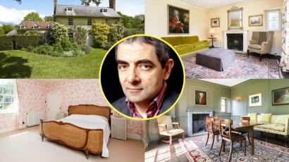 Kukkants be Rowan Atkinson 18. századbeli otthonába!