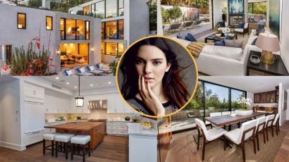 Kukkants be Kendall Jenner új, Los Angeles-i otthonába!
