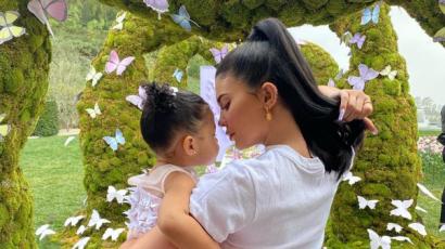 Kylie Jenner új részleteket árult el kislánya születéséről