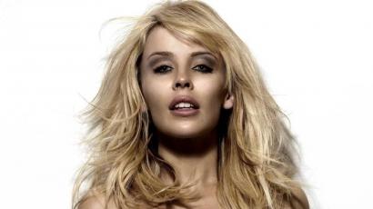 Kylie Minogue megijed a tükörképétől
