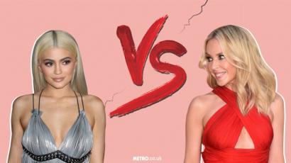 Kylie Minogue pert nyert Kylie Jennerrel szemben