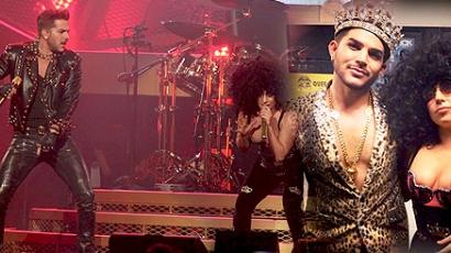 Lady Gaga csatlakozott a Queen + Adam Lambert formációhoz