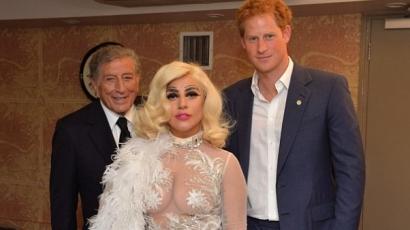 Lady Gaga Harry herceggel találkozott