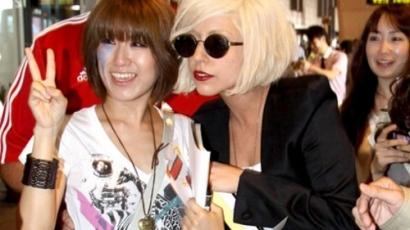 Lady Gaga Japánban szilveszterezett