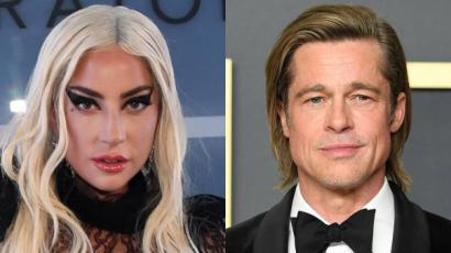 Lady Gaga közös filmben szerepel majd Brad Pitt-tel