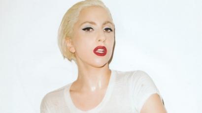 Lady Gaga meztelenül pózol a V címlapján