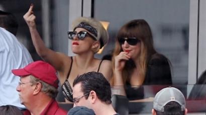 Lady Gaga nem tud viselkedni!