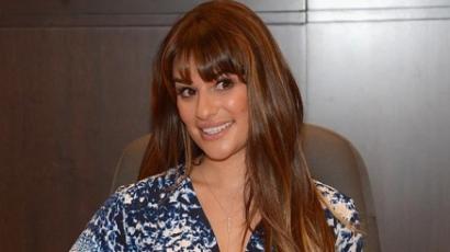 Lea Michele selyemfiúval randizik?