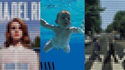 Legóból kreálta újra az ikonikus albumborítókat