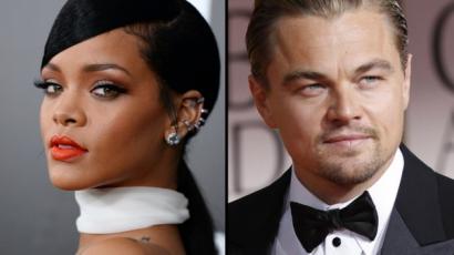 Leonardo DiCaprio meglepte Rihannát