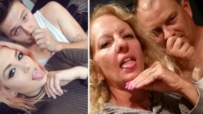 Saját lányuk szelfijével trollkodó szülők az internet új kedvencei