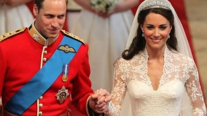 Lezajlott az évszázad esküvője